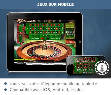 タブレットとモバイルカジノ