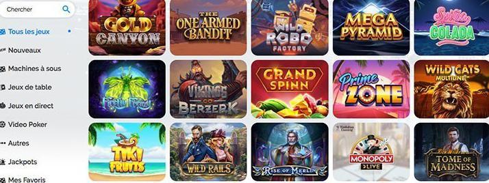 アズールカジノ ギャンブルのアドバイス ゲームの利用可能性